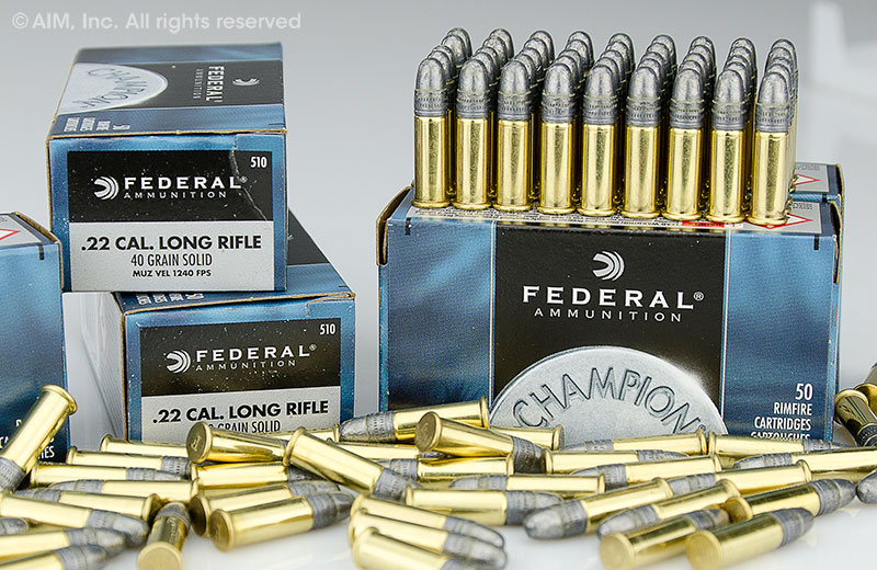 Federal Champion .22LR 40grn Solid 50rd box