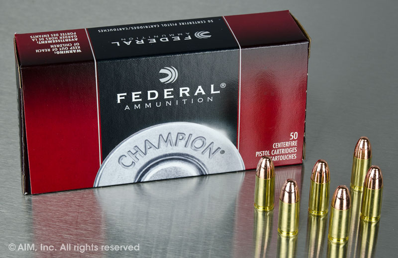 Federal Champion 9mm 115grn FMJ 50rd Box