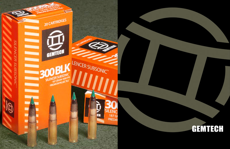 GEMTECH .300 BLACKOUT Supersonic 120grn
