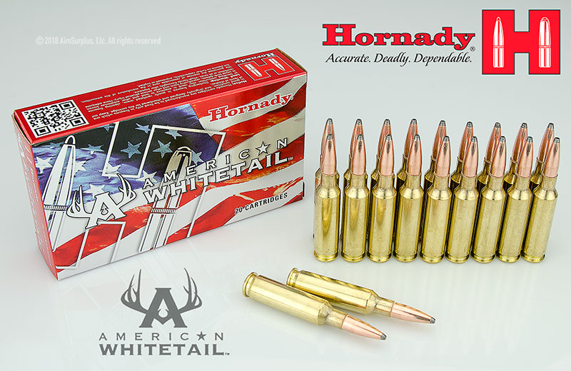 Hornady 6.5 Creedmoor 129grn InterLock American Whitetail® Ammunition 20rd Box