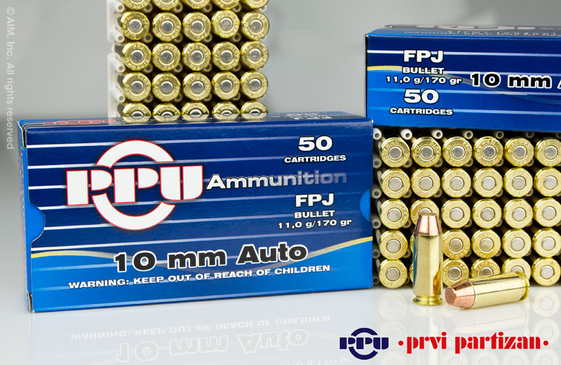 Prvi Partzan PPU 10mm Ammunition