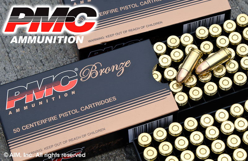 PMC 9mm 115grn FMJ 50rd box
