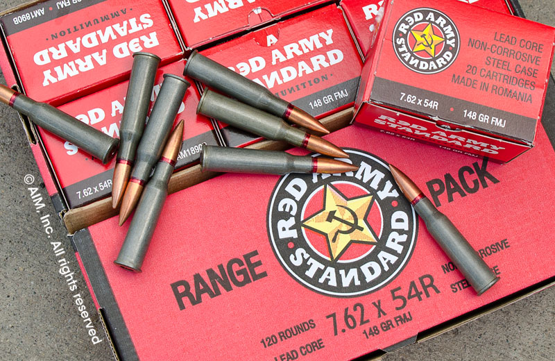 Red Army Standard 7.62x54R FMJ 148grn 120rd Range Pack