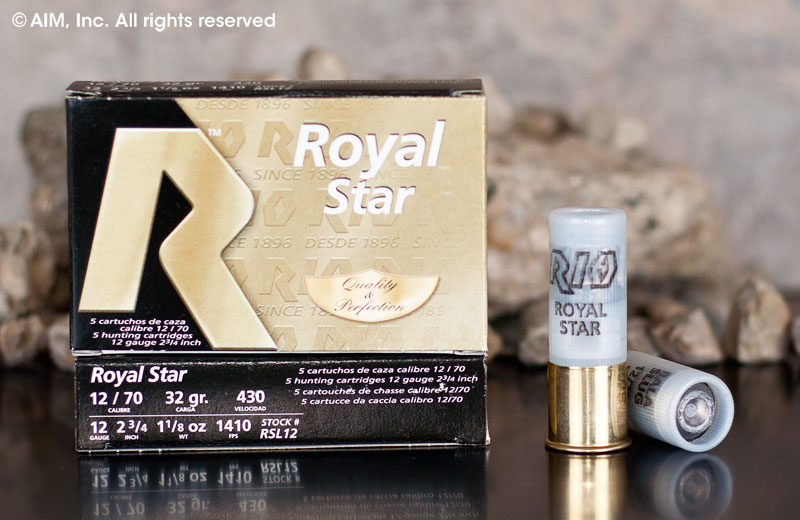 "RIO Royal 12GA 2 3/4""  1oz Slug 5 Rd Box"