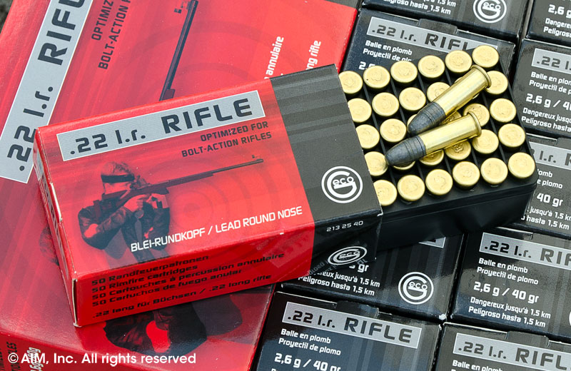 Geco .22lr Rifle 40grn LRN 50rd box