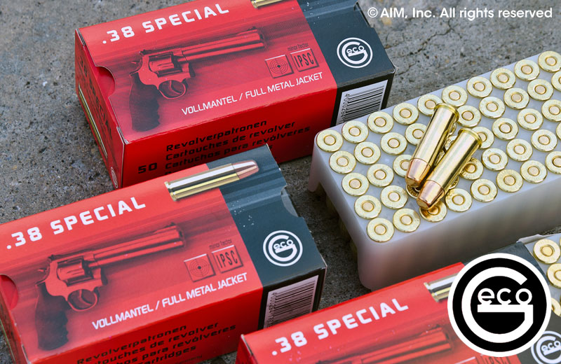 Geco .38 Special 158grn FMJ 50rd Box