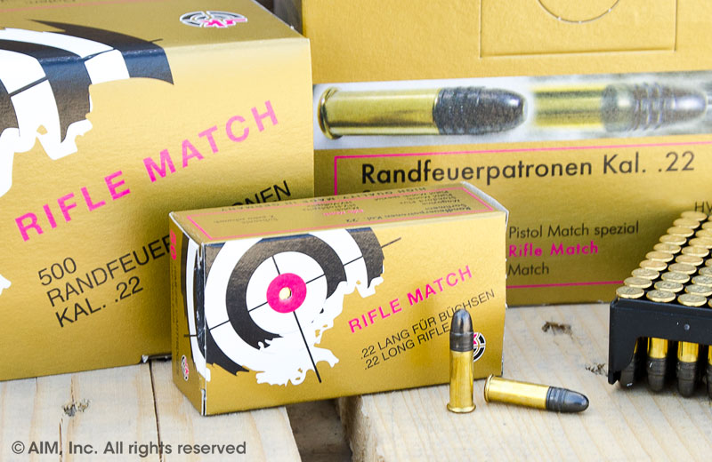 SK (German Lapua)  Rifle Match .22LR 50rd Box