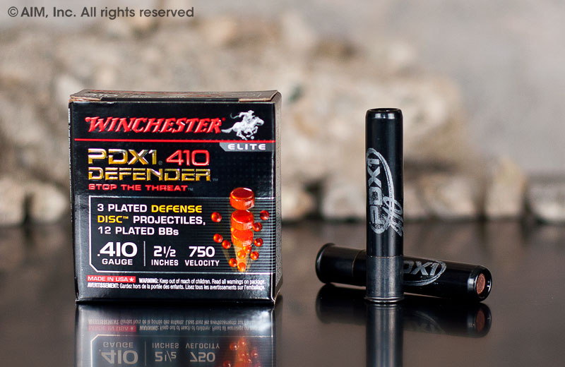 "Winchester PDX1 Defender .410 Gauge 2.5"" (S410PDX1) 10rd box"