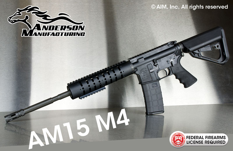 Anderson Manufacturing AM15 M416 .223/5.56 Rifle