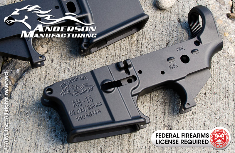 Anderson Manufacturing AM15 .223 Cal. Lower Receiver