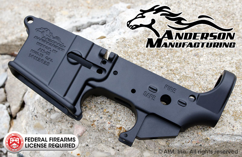 Anderson Manufacturing AM15 Multi. Cal. Lower Receiver