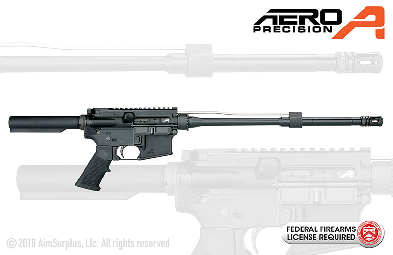 Aero Precision AR15 OEM .223/5.56 16 in. Mid-Length Rifle
