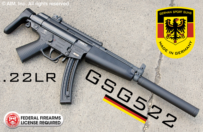 German Sports Guns GSG-522 .22lr Rifle