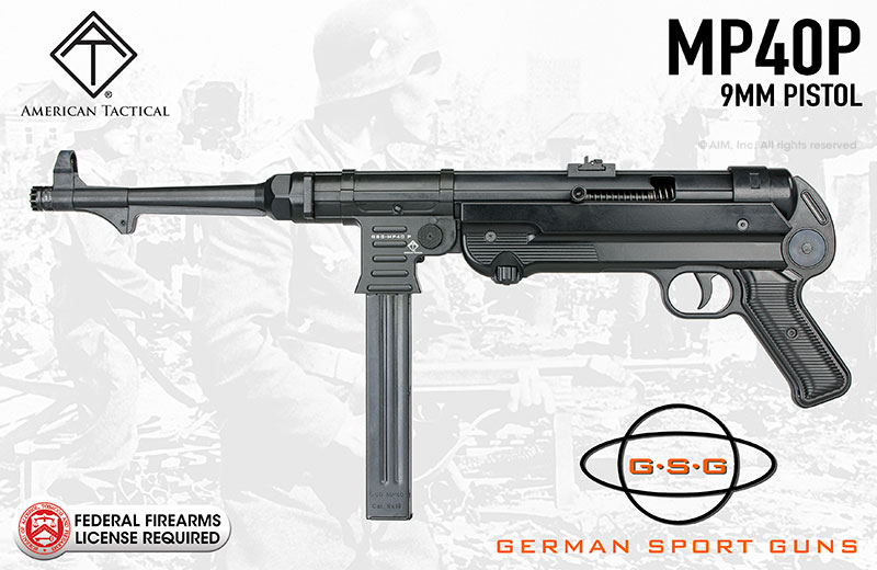 German Sport Guns GSG-MP40P 9mm Pistol