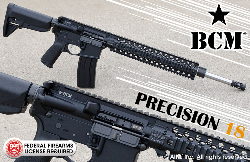 BRAVO COMPANY MFG. PRECISION 18 .223/5.56 RIFLE