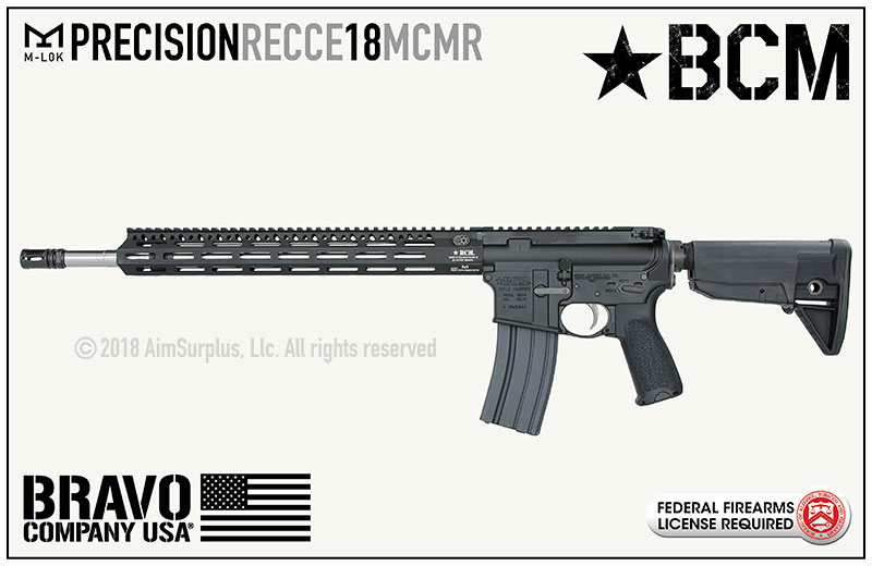 BCM RECCE-18 MCMR Precision .223/5.56 Rifle