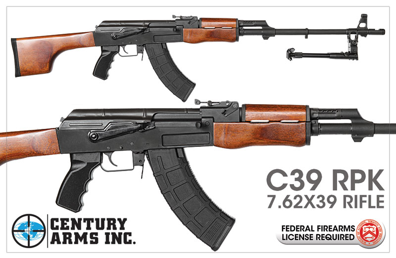Century Arms C39 RPK 7.62x39 Rifle