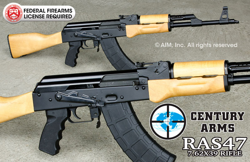 Century Arms RAS-47  7.62x39 Rifle