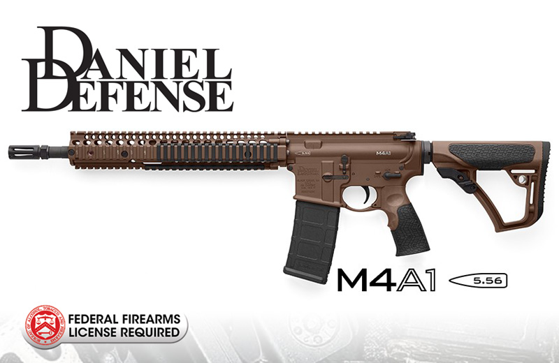 Daniel Defense M4A1 5.56/.233 MIL SPEC+ Rifle