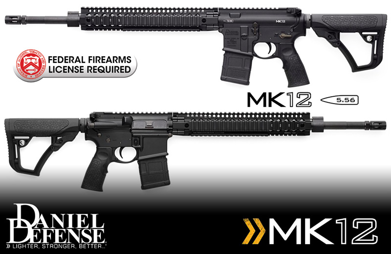 Daniel Defense MK12 .223/5.56 Rifle