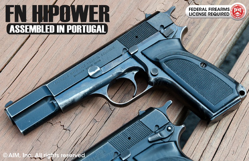 Hi Power MK 3 9mm Pistol (Assembled in Portugal)