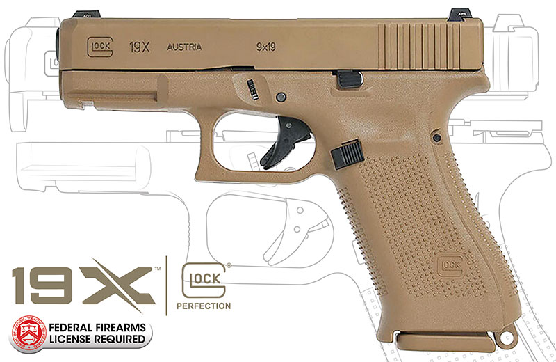 New GLOCK G19X 9mm Handgun