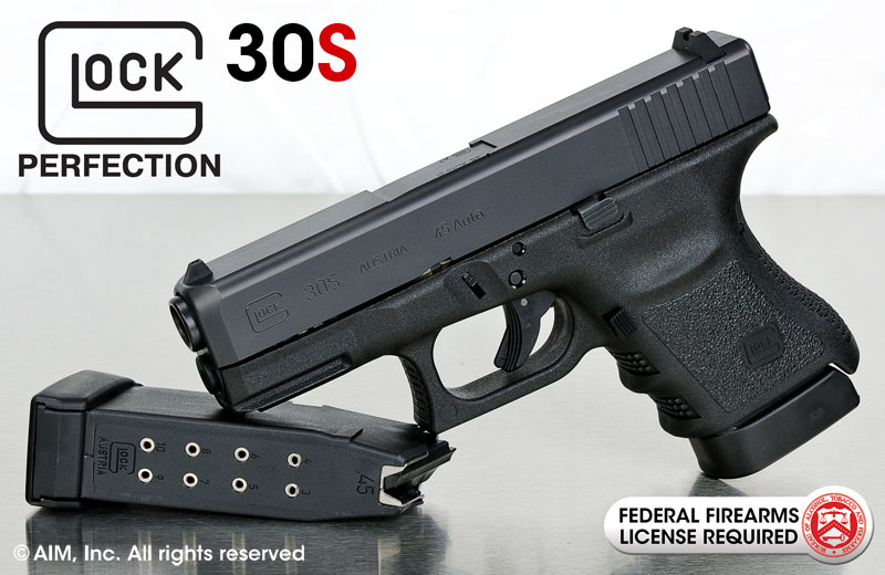 New GLOCK 30S .45auto Handgun