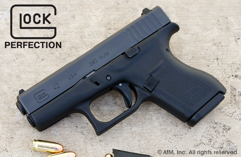 New Glock 42 .380acp Handgun