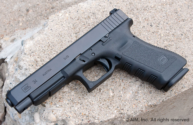 New Glock 34 9mm Competition Handgun Gen 3