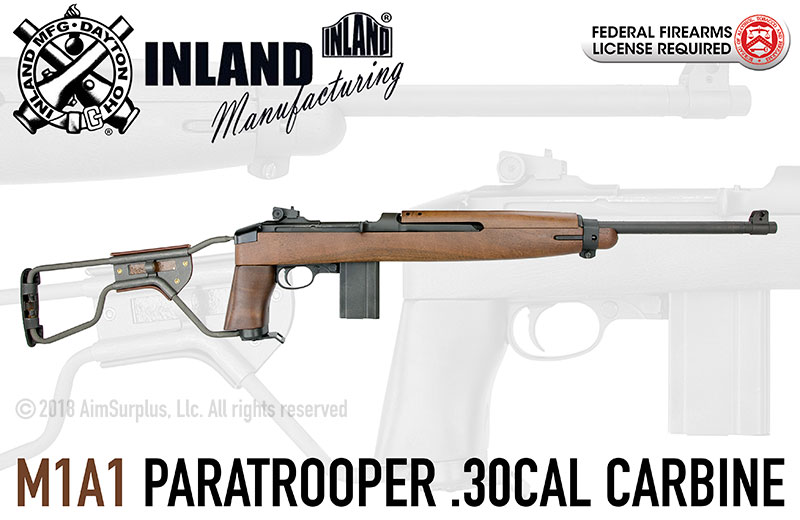 Inland Manufacturing M1A1 Paratrooper .30cal Carbine
