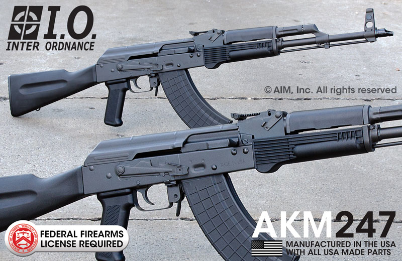 INTER ORDNANCE AKM247 7.62X39 Rifle