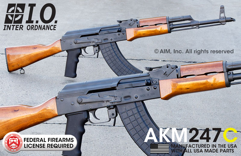 INTER ORDNANCE AKM247C 7.62X39 Rifle