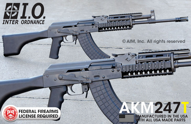 INTER ORDNANCE AKM247T 7.62X39 Rifle