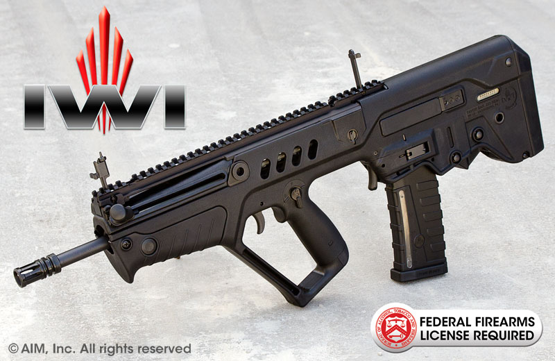 "IWI TAVOR SAR .223/5.56 Rifle 16.5"" BLACK"