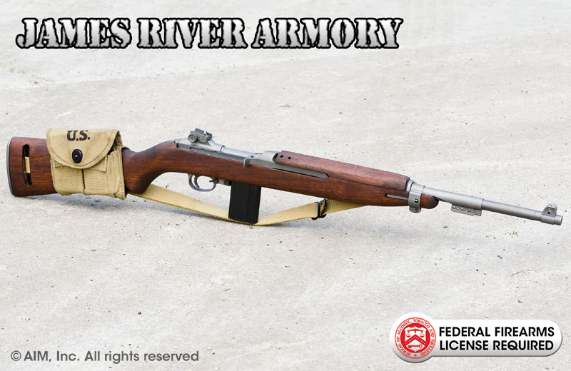 JAMES RIVER ARMORY .30cal M1 Carbine