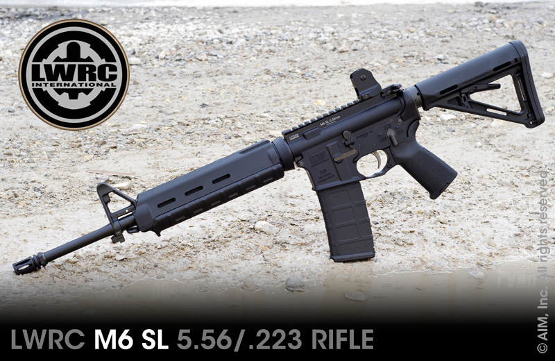 LWRC Int. M6-SL Light Weight 5.56/.223 Rifle