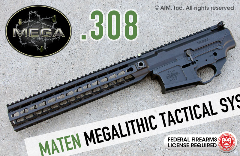 MEGA ARMS MATEN MTS .308 Megalithic AR Tactical System