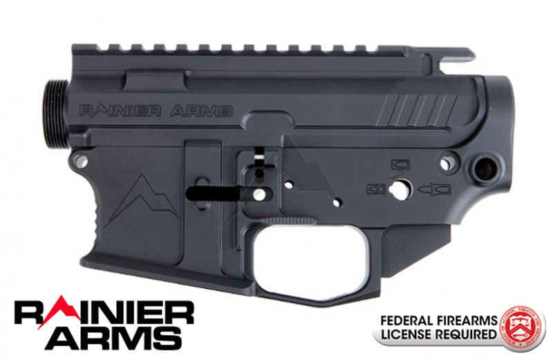 Rainier Arms UltraMatch Billet Upper & Ambi Lower Combo Set - MOD 3