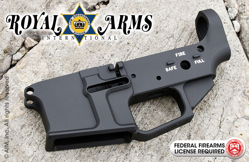 ROYAL ARMS RAK-15 Billet AR MULTI Cal. Lower Receiver