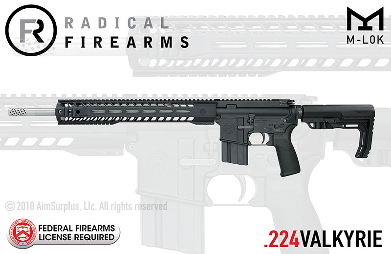 Radical Firearms .224 Valkyrie 18in. MHR Rifle