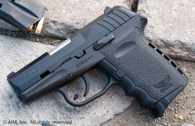 SCCY Industries CPX2 Gen 2 9mm Handgun
