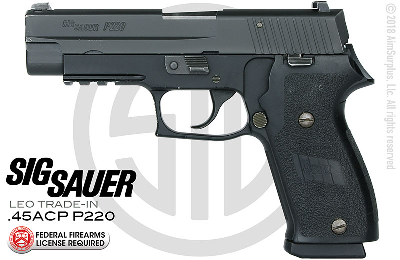 LEO Trade-In SIG SAUER P220 .45 AUTO Handgun