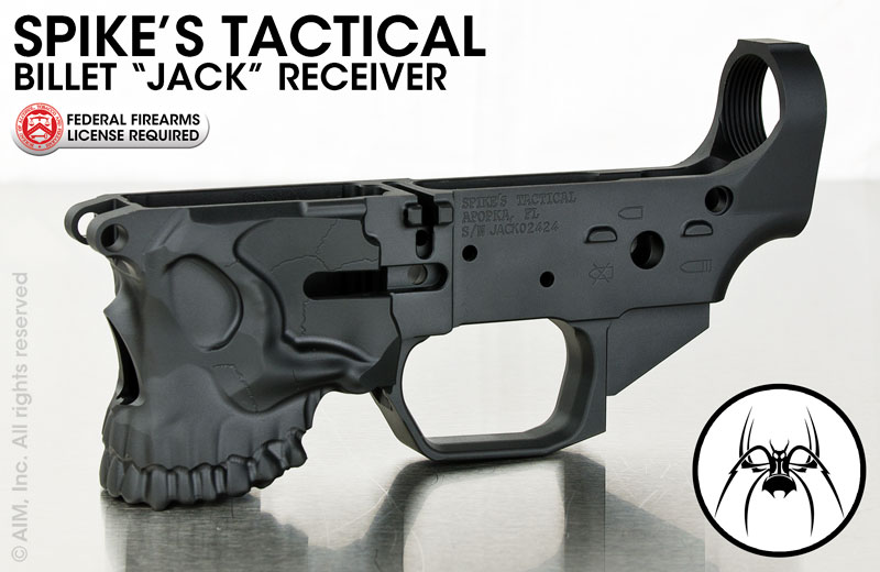 Spikes Tactical The Jack Billet Multiple Caliber  Lower Receiver