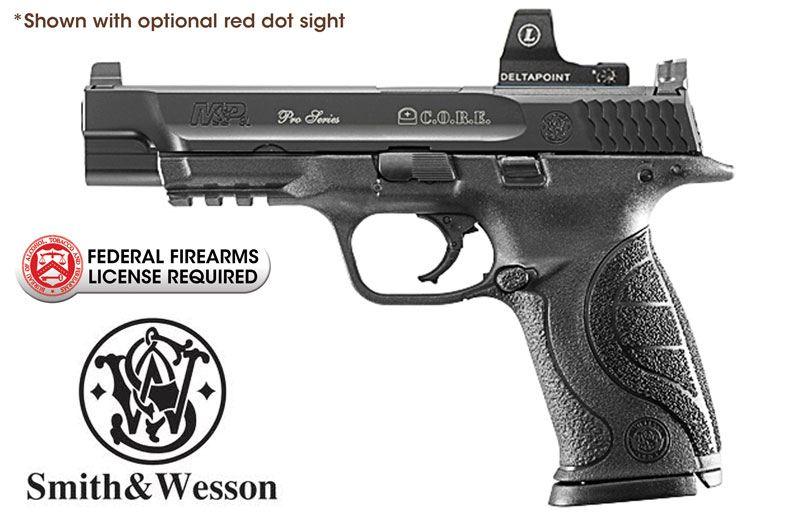 Smith & Wesson M&P 9L Pro Series C.O.R.E. 9mm Handgun