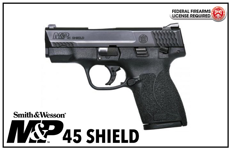 Smith & Wesson M&P®45 SHIELD™.45 ACP Handgun with Thumb Safety