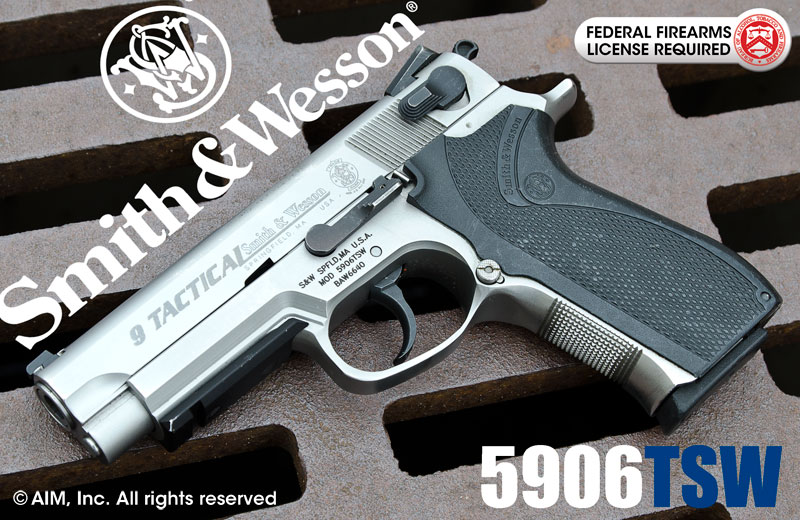Smith & Wesson Model 5906 TSW 9mm Tactical Handgun