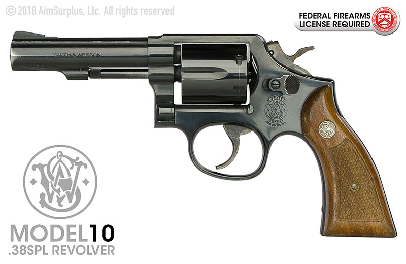 Smith & Wesson 10 .38spl Heavy Barrel Revolver