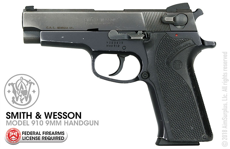 Smith & Wesson Model 910 9mm Pistol Standard Grade