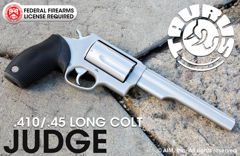 Refurbished TAURUS Judge .410/.45 Long Colt Revolver