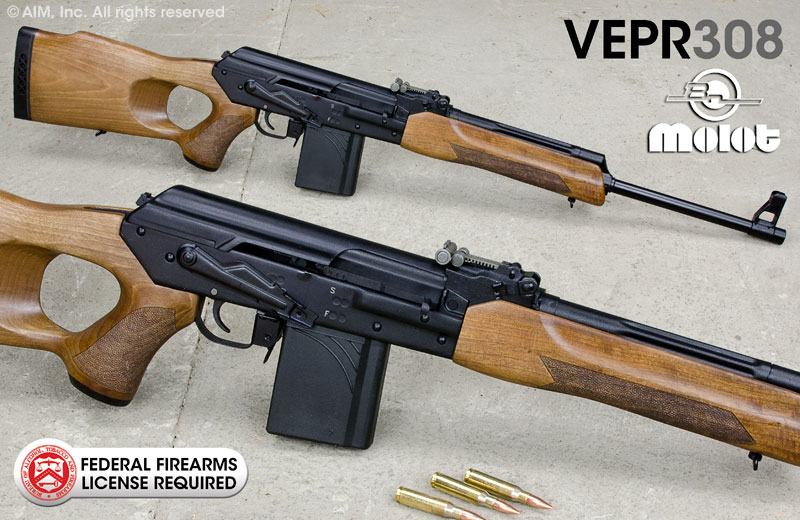 "Russian VEPR .308 20"" Rifle"